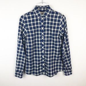 Banana Republic | Soft Wash Plaid Button Down Top